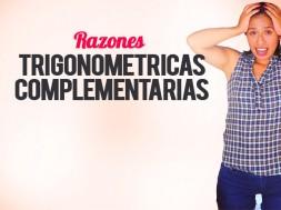 Razones Trigonométricas Complementarias