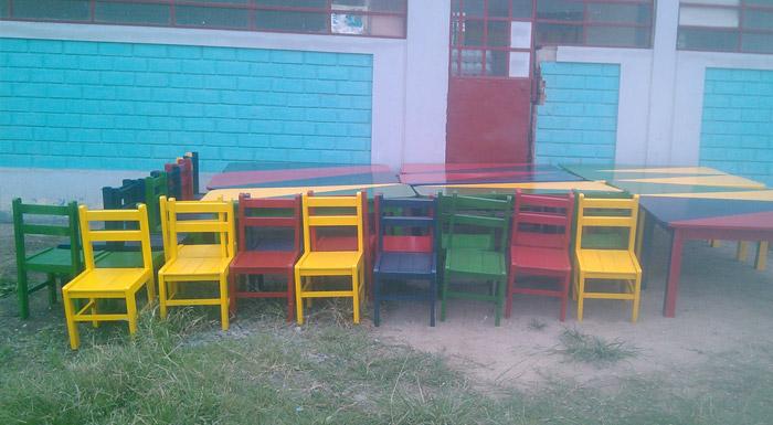 Comas: Educación inicial para los niños del colegio Libertad